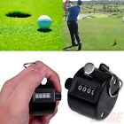 Внешний вид - 4 Digit Number Manual Handheld Tally Mechanical Clicker Golf Stroke Counter LK