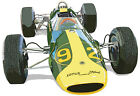 Indianapolis 500 1963 Jim Clark lotus Ford Indy Car canvas art print