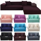 @ Stretch Elastic Fabric Sofa Cover Sectional/Corner Couch Covers Fit Home Decor