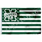 NCAA LM Nation Flag 3X2FT 5X3FT 6X4FT 100D Polyester
