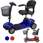 4 Wheel Power Scooter Electric Drive Medical Mobility Disability - Blue Red MO