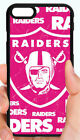 OAKLAND RAIDERS GIRLS PINK PHONE CASE COVER FOR iPHONE X 8 7 6S 6 6 PLUS 5  5C 4 $15.88 USD on eBay