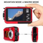 Digital Camera Waterproof 24MP 1080P Double Screen 16x Zoom Photo Camcorder XK