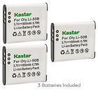 Kastar Replacement Battery for GE GB-50A & GE 10502 PowerFlex 3D DV1 G100