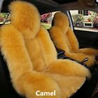 Universal Warm Wool Fur Car Front Seat Cover Cushion Car Accessories Interior