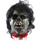 Halloween Party Decoration Props Bloody Prank Toy Hanging Severed Human Head NEW