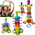 Внешний вид - Baby Rattles Toys Caterpillar Sound Bed Car Hanging Musical Toy With Teether
