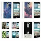 For LG Escape 2 / LG Logos / Spirit LTE Hard Fitted 2 Piece Snap On Case White