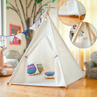 Castle Indian Play Tent Teepee Kids Playhouse Sleeping Dome Portable Carry Bag