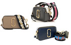 MARC JACOBS Snap Shot Logo Camera Bag with Free Gift Free Shipping