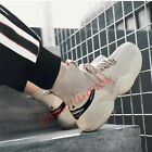 Mens Fashion Chunky Trainer Breathable Sneakers Casual Athletic Mesh Dad Shoes