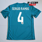 Real Madrid Third 3rd Jersey Champions League Edition 17/18 Teal