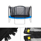 Trampoline 12 14 15 ft  Safety Net Enclosure Fence Round Frame Bounce Mesh Parts image