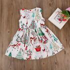 US Toddler Kids Baby Girl Christmas Cartoon Deer Sleeveless Party Dress Clothes <br/> ❤CHRISTMAS GIFT❤US STOCK ❤FAST DELIVERY❤HIGH QUALITY