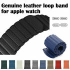 Leder Loop Armband Ersatzarmband Für Apple Watch Series 4/3/2/1 40/44/38/42mm