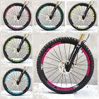 M60 Wheel Rim Stickers for MTB Mountain Bike Bicycle Replacement Race Decal