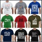 Father's Day Birthday T-Shirt Dad Superhero Daddy Funny Greatest Farter Best image