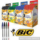 ORIGINAL BIC CRISTAL MEDIUM BALLPOINT PENS BALL POINT BIROS BLACK,BLUE,RED,GREEN <br/> ✅GENUINE BIC✅UK SELLER✅MULTI-BUY DISCOUNT✅ANY QUANTITY✅