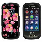 For LG Extravert 2 VN280 Hard Fitted 2 Piece Snap On Case