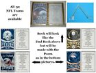 (See all 32 Teams) Personalized NFL Handmade Decorated Book for that Special Dad $13.0 USD on eBay