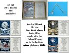 (See 32 Teams) Personalized NFL Handmade Decorated Book for that Special Friend $13.0 USD on eBay