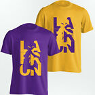 LeBron James Los Angeles Lakers T-Shirt - LaBron LA Tee - Yellow or Purple