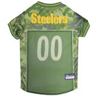 Pittsburgh Steelers NFL Pets First Licensed Dog Pet Mesh CAMO Jersey XS-XL NWT $29.37 USD on eBay