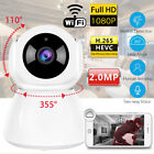 Wireless Security Camera System 1080P Smart HD Home WiFi IP Camera Baby Monitor