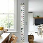 Wall Decoration Children Wooden Growth Ruler Scale Chart  Kids Hanging Measure
