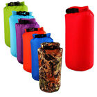15L Camouflage Waterproof Bag Dry Sack Camping Hunting Canoe Kayak Boating Pouch