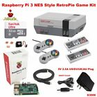Raspberry Pi 3 Model B 32gb Retroflag Nespi Style Case Retropie Game Kit G3006