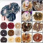 SMALL HAIR SCRUNCHIE WRAP MESSY BUN UPDO PONYTAIL 2 STYLES SPIKEY NEAT VARIOUS