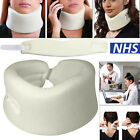Soft Foam Neck Collar Support Brace Unisex Cervical Whiplash Neck Pain Relief <br/> Branded &amp;Used by NHS Patients, Free UK Sameday Dispatch