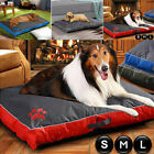 Double Sided Waterproof Dog Pet Cat Bed Mat Cushion Mattress Washable Zip Cover