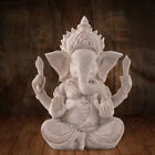 2080 0655 Buddha Elephant Statue Sculptures Sandstone Figurine Garden Home Decor