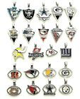 NFL Team Sterling Silver 925 Snake Chain Logo Pendant Charm Football Necklace $7.95 USD on eBay