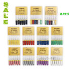 Dental Endodontic Hand Use Root Canal K-Files 25/21mm Stainless Steel 6pcs/kit
