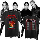 METALLICA worldwired tour 2018 - 2019 U.S. 2 side T-shirt all size tee image
