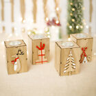 45DE Colourless Candle Holder Candlestick Christmas Mini Home Decoration Comely