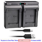 Kastar Battery Dual Charger for Canon Original NB-10L NB-10LH & Canon OEM CB-2LC