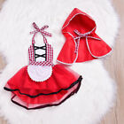 Little Red Riding Hood Halloween Costume For Baby Girl Infant Fancy Party Dress
