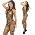 Lingerie Nightwear Women Open Crotch Fishnet Body Stocking Bodysuit Babydoll LOT