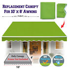 Multi-size Replacement COVER Outdoor Manual Retractable Sunshade Awning Canopy