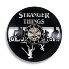 Stranger Things Action Figure Silhouette Gift for Best Friend Dad Vinyl Clock