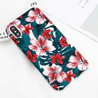 Flower Pattern Hard Pc Phone Case Cover For Iphone X 7 8 6 6s Plus