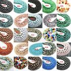 Wholesale Natural Gemstone Loose Beads Jewelry Making 4mm 6mm 8mm 10mm 12mm #