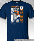 Houston Astros MLBPA George Springer #4 Color Youth Boys Cotton Tee Shirt Navy on Ebay