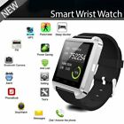 Bluetooth Smart Wrist Watch Phone Mate For Smartphone IOS Android Samsung iPhone