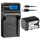 Kastar Battery LCD Charger for JVC BN-VG121U JVC Everio GZ-MS216 Everio GZ-MS230