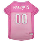 New England Patriots Licensed NFL Pets First Dog Pet Mesh Pink Jersey Sizes XS-L $27.97 USD on eBay